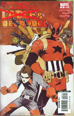 Cable Deadpool #45 Captain America